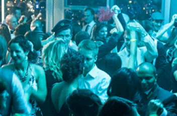A Vintage New Year's Eve Party